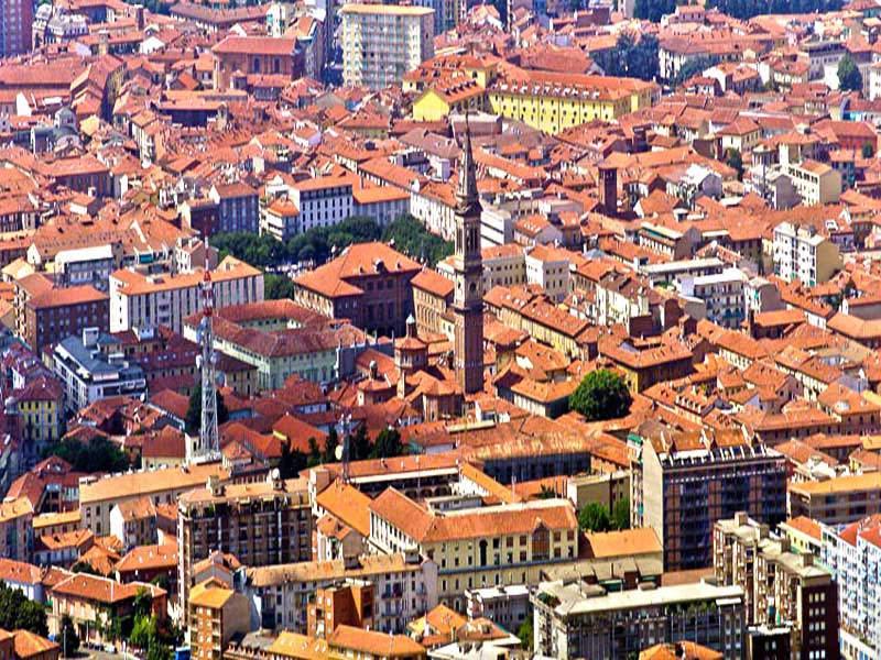 Vista aerea di Alessandria