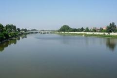 Il fiume Tanaro di Alessandria