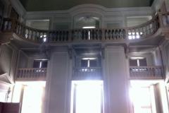 L'interno del teatro Palazzo Guasco ad Alessandria